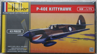 Heller 1/72 80266 Curtiss P-40E Kittyhawk